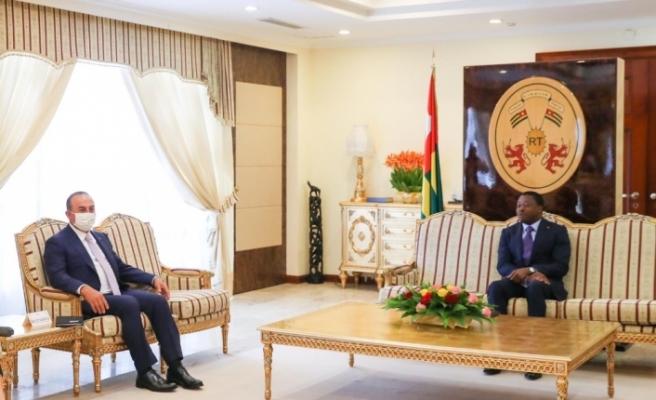 Bakan Çavuşoğlu, Togo Cumhurbaşkanı Gnassingbé ile görüştü