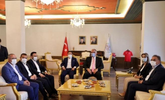 Bakan Ersoy, Kapadokya Alan Başkanlığını ziyaret etti
