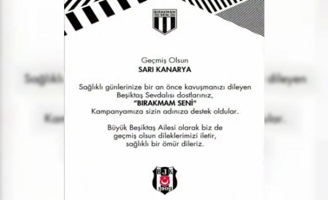 Beşiktaş'tan Fenerbahçe'ye 'Geçmiş olsun' sertifikası!