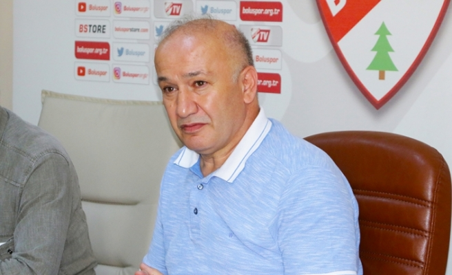 """Boluspor Kulübü Başkanı Çarıkcı: """"Borcumuz 19 milyon lira"""""""