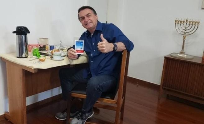Brezilya Devlet Başkanı Bolsonaro, Covid-19'u yendi