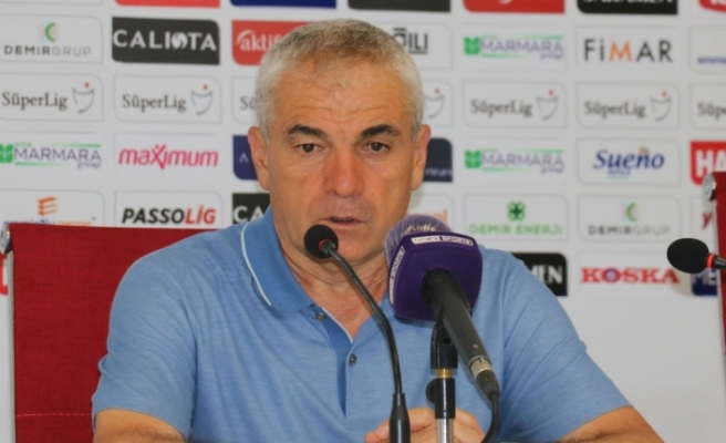 Sivasspor Teknik Direktörü Rıza Çalımbay takımına güveniyor