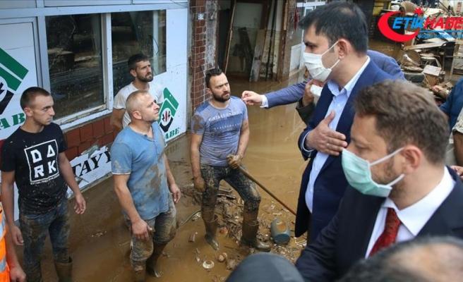 Çevre ve Şehircilik Bakanı Kurum: Artvin ve Rize'de sel nedeniyle ulaşamadığımız vatandaş kalmadı