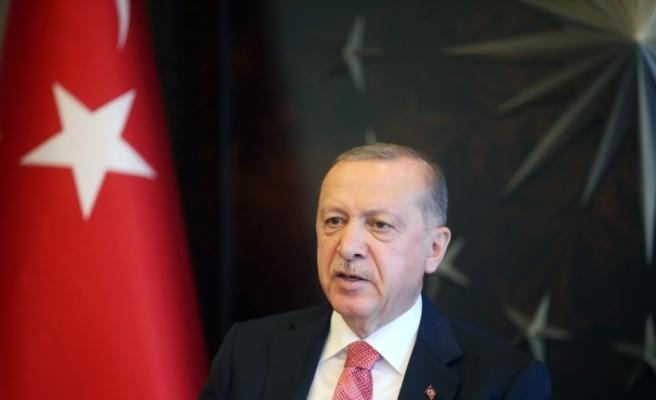 Cumhurbaşkanı Erdoğan'dan Kıbrıs Barış Harekatı'nın 46. yıl dönümü mesajı