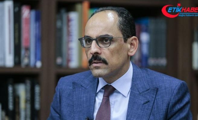Cumhurbaşkanlığı Sözcüsü Kalın: Ali Erbaş Hoca'nın hutbesinde Atatürk'e dil uzatılması diye bir şey söz konusu değil
