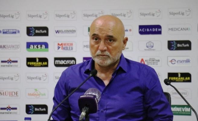 """Hikmet Karaman: """"Penaltı golüne boyun eğdik"""""""