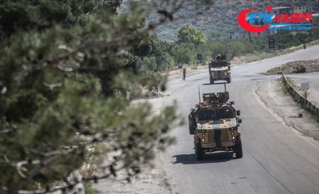 İdlib'de 19'uncu Türk-Rus Birleşik Kara Devriyesi icra edildi
