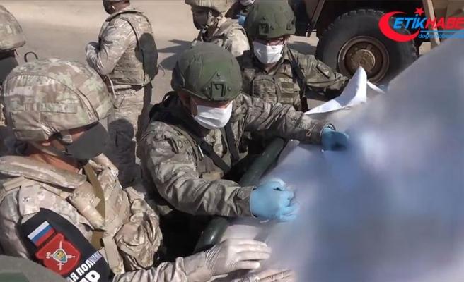 İdlib'de 22'nci Türk-Rus Birleşik Kara Devriyesi icra edildi