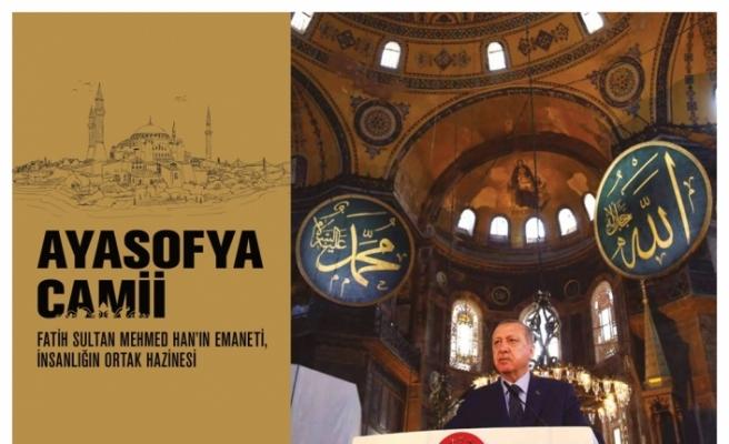 İletişim Başkanlığından Ayasofya kitabı ve internet sitesi