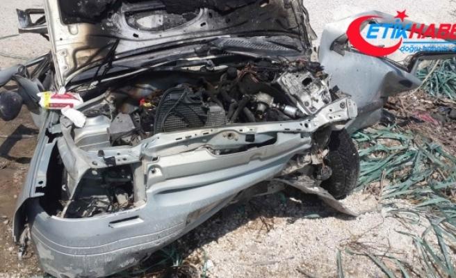 Kahramanmaraş'ta feci kaza: 2 ölü, 3 yaralı