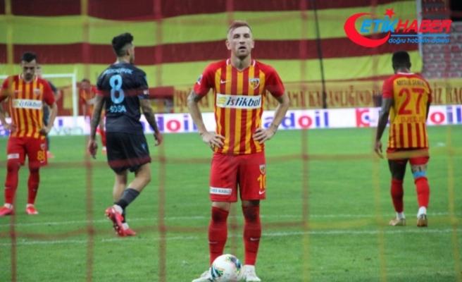 """Kayserisporlu Pedro Henrique: """"Düşmeyi hak etmedik"""""""