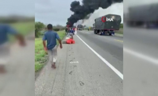 Kolombiya'da petrol tankeri patladı: 7 ölü, 40 yaralı