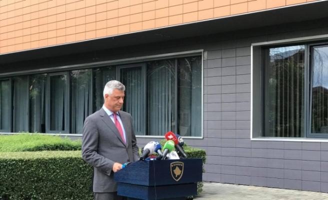 Kosova Cumhurbaşkanı Thaçi, Lahey Özel Savcılığına ifade veriyor
