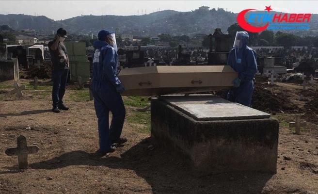 Kovid-19'dan son 24 saatte Brezilya'da 1280, Meksika'da 648, Hindistan'da 507 kişi öldü