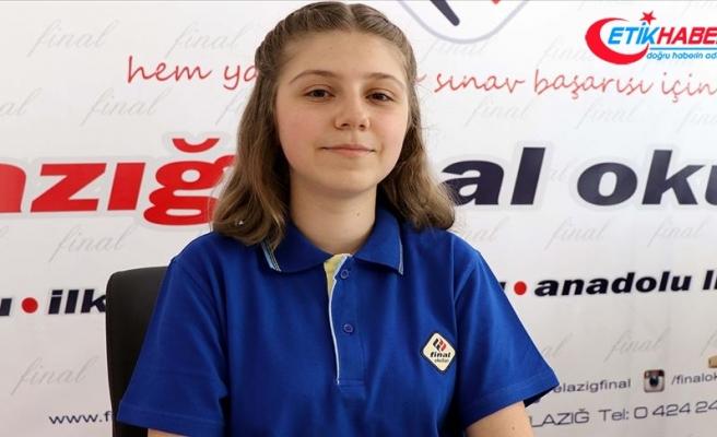 LGS birincilerinden Beliz Ece Koçoğlu başarısını düzenli çalışmaya borçlu