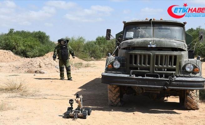 MSB: Libya'da mayın ve EYP'lerin imha çalışmaları sürüyor