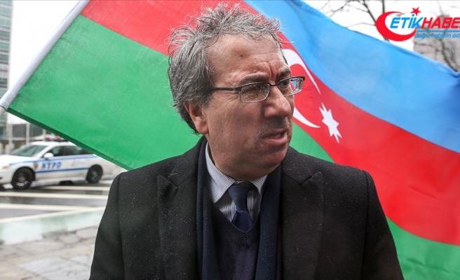 New York'taki Azerbaycan Cemiyeti Ermenilerin sınırdaki saldırılarını kınadı
