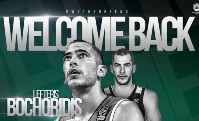 Panathinaikos, Lefteris Bochoridis'i transfer etti