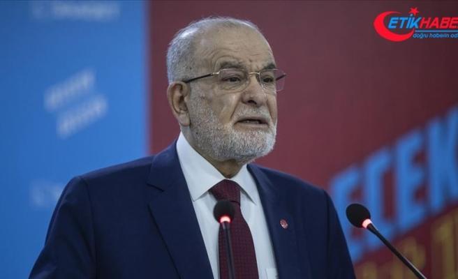 Saadet Partisi Genel Başkanı Karamollaoğlu: Aziz milletim darbenin karşısında durarak o gece tarihi bir rol üstlendi