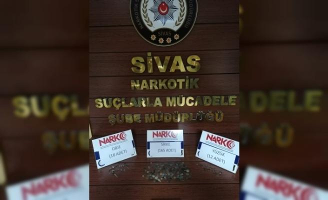 Sivas'ta 195 parça tarihi eser ele geçirildi