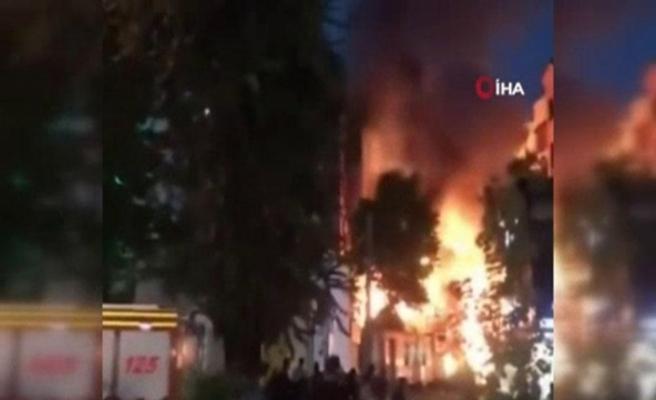 Tahran'da klinikte meydana gelen patlamada 13 kişi öldü