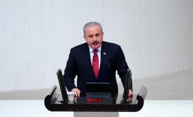 """TBMM Başkanı Şentop: """"Ayasofya'nın ibadete açılması bir tarihi olay"""""""