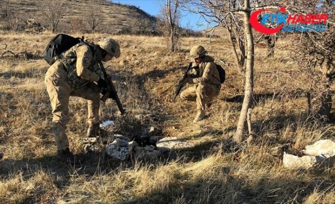Tunceli'de etkisiz hale getirilen teröristin gri listede arandığı belirlendi