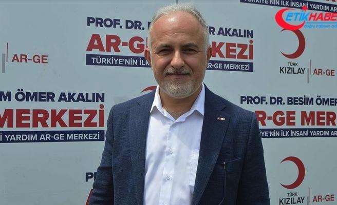 Türk Kızılay Genel Başkanı Kınık: Türkiye'nin kan stokları yerinde