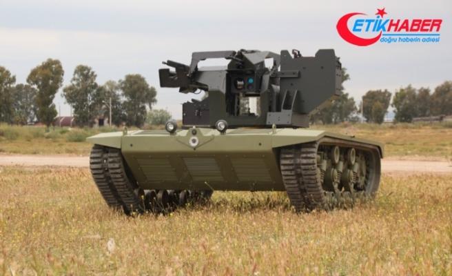 Türkiye'nin ilk insansız mini tankı TSK envanterine giriyor