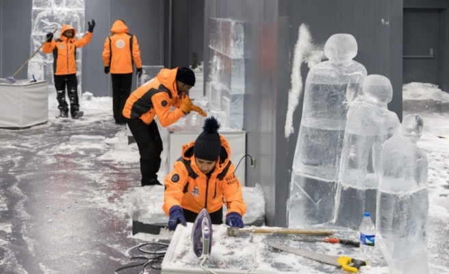 Türkiye'nin tek buz müzesi açılıyor