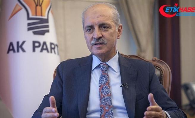 AK Parti Genel Başkanvekili Kurtulmuş: Biden'ın açıklamaları akıl, izan ve siyasal ahlak dışıdır