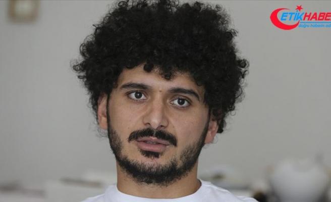 Ampute futbolcu Barış Telli: Hayallerimin peşinde koşmayı seviyorum