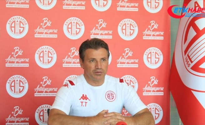 Antalyaspor Teknik Direktörü Tuna: Lige iyi başlamak istiyoruz