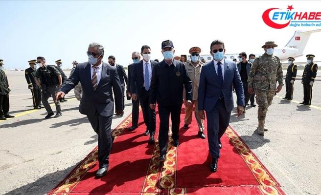 Bakan Akar ve Genelkurmay Başkanı Orgeneral Güler Libya'da
