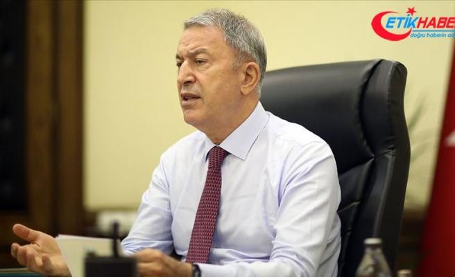 Milli Savunma Bakanı Akar harekat merkezinden Doğu Akdeniz mesajı verdi