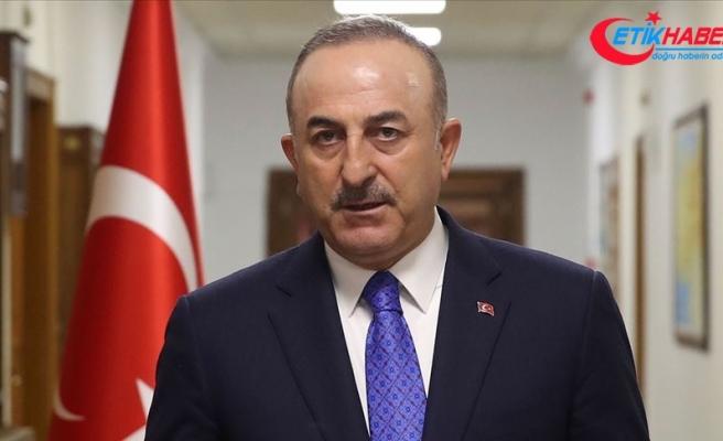 Bakan Çavuşoğlu: İrini operasyonu taraflı bir operasyon