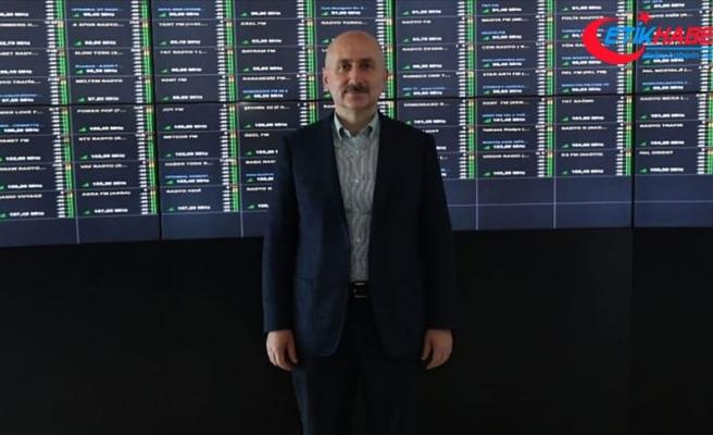 Bakan Karaismailoğlu: Küçük Çamlıca TV Radyo Kulesi'ni eylülde hizmete açmayı planlıyoruz