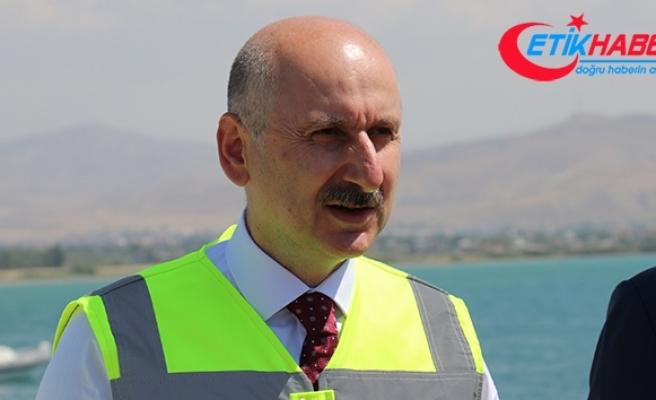 Bakan Karaismailoğlu: 'Van bölgesinde 9 milyar TL civarında proje yapıldı'