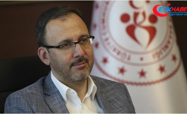 Bakan Kasapoğlu'ndan Beşiktaşlı taraftarlara müjde