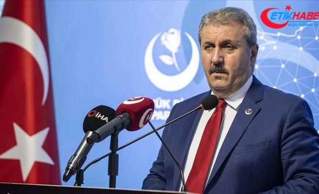 BBP Genel Başkanı Destici'den Ermenistan'ın saldırganlığına tepki