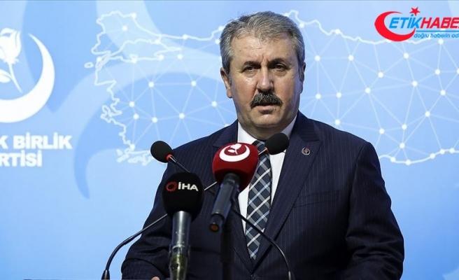 BBP Genel Başkanı Destici:Yunanistan'ın davranış kalitesi konusunda karşımızda devlet mi yoksa meczup mu var şaşırıyoruz