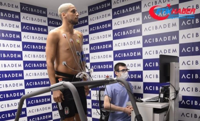 Beşiktaş'ın yeni transferi Welinton, sağlık kontrolünden geçti