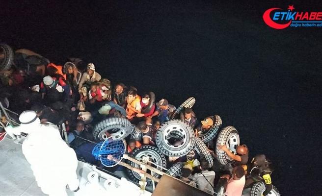 Çanakkale'de Türk kara sularına itilen 37 sığınmacı kurtarıldı