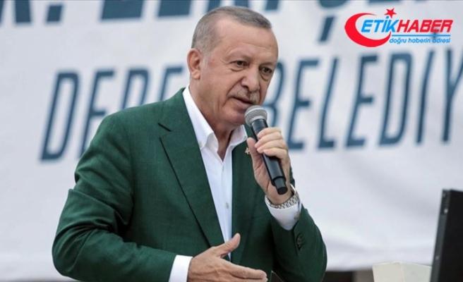 Cumhurbaşkanı Erdoğan: Giresun'a 73,5 milyon lira ödenek gönderildi