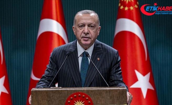 Cumhurbaşkanı Erdoğan: Türkiye Oruç Reis ve donanma faaliyetlerinden geri adım atmayacak