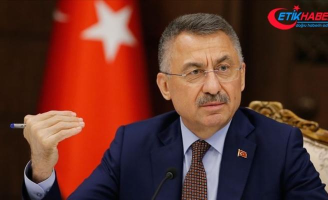 Cumhurbaşkanı Yardımcısı Oktay: AB'nin diyalog çağrısı yaparken başka planlar içinde olması samimiyetsizliktir