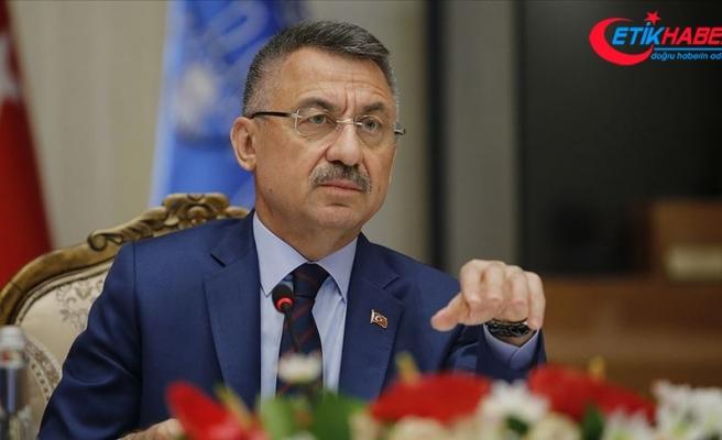 Cumhurbaşkanı Yardımcısı Oktay'dan 'Kıbrıs' açıklaması