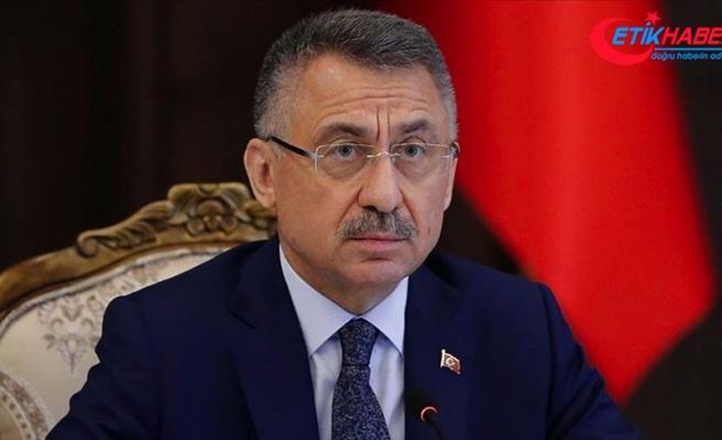 Cumhurbaşkanı Yardımcısı Oktay: Devletimiz felaketin yaralarını sarmak için tüm imkanlarını seferber etmiştir