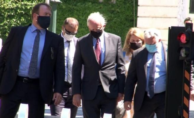 Cumhurbaşkanlığı Sözcüsü Kalın, ABD'nin Suriye Özel Temsilcisi Jeffrey'i kabul etti
