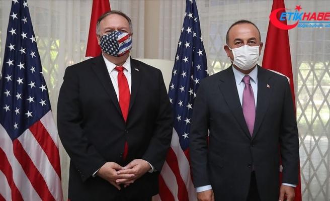 Dışişleri Bakanı Çavuşoğlu, Pompeo ile telefonda görüştü